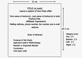 Transed Format Of The Abstract And Submission Form